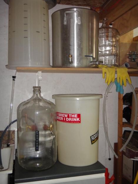 The brewing corner - where the magic happens!